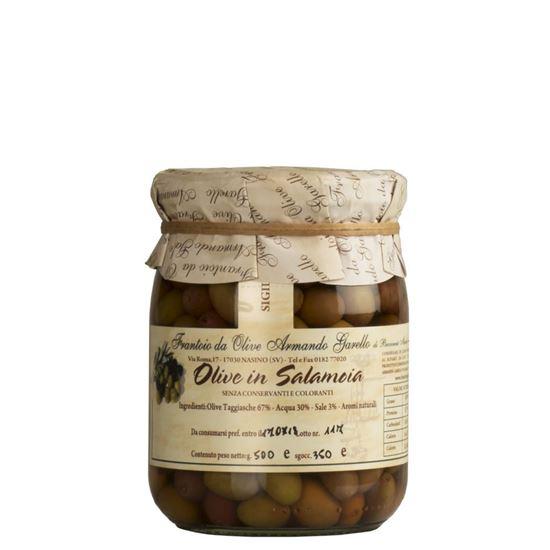 Image sur Olives variété Taggiasca en Saumure