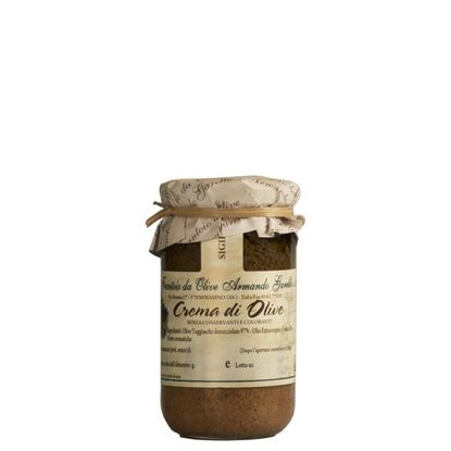 Immagine di Crema di Olive in Olio Extra Vergine di Oliva