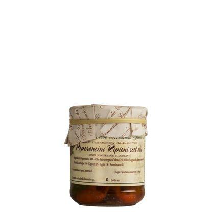 Immagine di Peperoncini ripieni in Olio Extra Vergine di Oliva