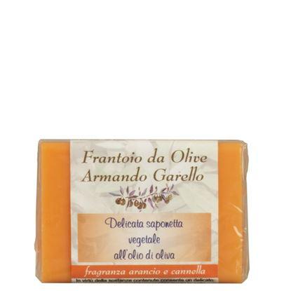 Immagine di Saponetta vegetale all'Olio di Oliva - Arancio e Cannella