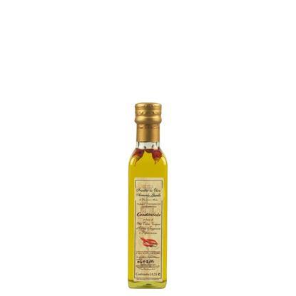 Immagine di Condimento a base di Olio Extra Vergine di Oliva Taggiasca e Peperoncino